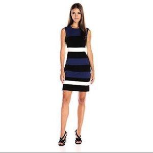 6b1eab46756 Tommy Hilfiger Dresses - Tommy Hilfiger Color Block Ponte Sheath Dress 16